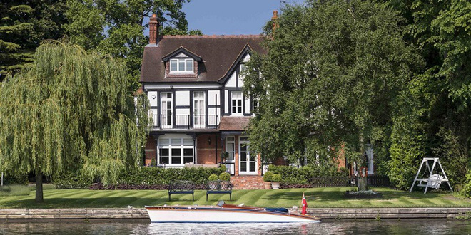 Toad Hall - ngôi nhà ven sông tuyệt vời dành cho những người yêu thiên nhiên - Ảnh 1.