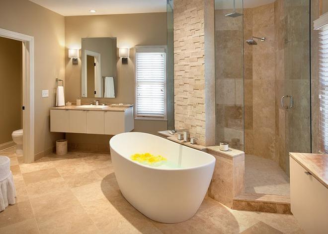 Những mẫu bồn tắm dưới đây sẽ giúp nhà tắm tỏa sáng bất ngờ - Ảnh 2.