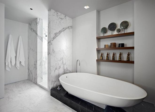 Những mẫu bồn tắm dưới đây sẽ giúp nhà tắm tỏa sáng bất ngờ - Ảnh 3.