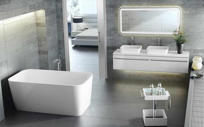 Những mẫu bồn tắm dưới đây sẽ giúp nhà tắm tỏa sáng bất ngờ - Ảnh 5.