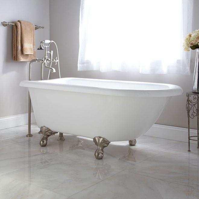 Những mẫu bồn tắm dưới đây sẽ giúp nhà tắm tỏa sáng bất ngờ - Ảnh 9.