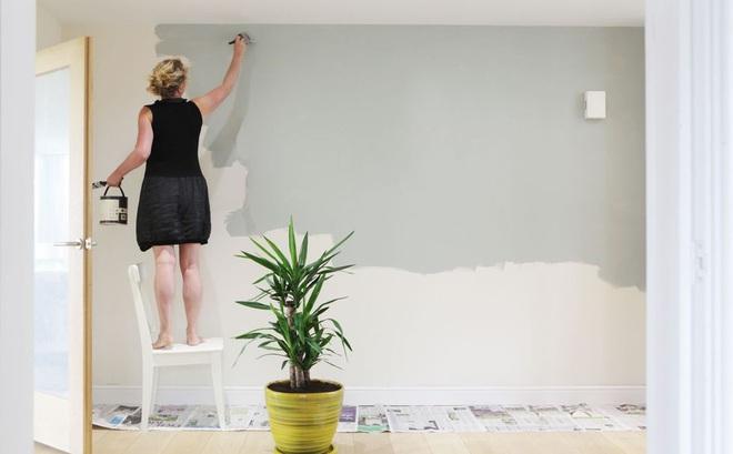 Sai lầm tai hại khi sơn tườh ai cũng nên biết để tránh xa - Ảnh 1.
