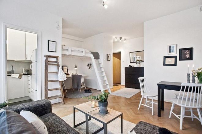 Những thiết kế gác lửng đẹp như mơ cho nhà nhỏ hóa rộng thênh thang - Ảnh 1.