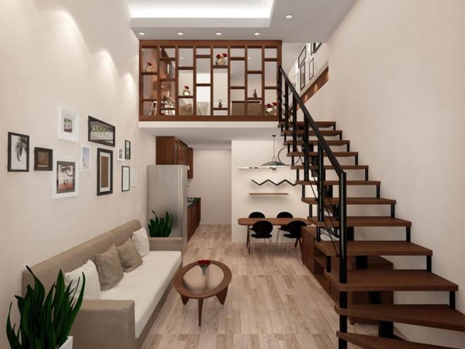 Những thiết kế gác lửng đẹp như mơ cho nhà nhỏ hóa rộng thênh thang - Ảnh 2.