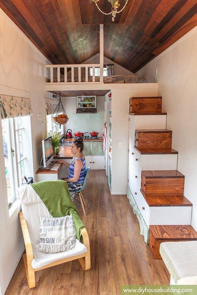 Những thiết kế gác lửng đẹp như mơ cho nhà nhỏ hóa rộng thênh thang - Ảnh 7.