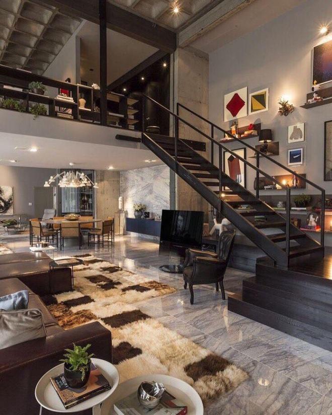 Những thiết kế gác lửng đẹp như mơ cho nhà nhỏ hóa rộng thênh thang - Ảnh 9.