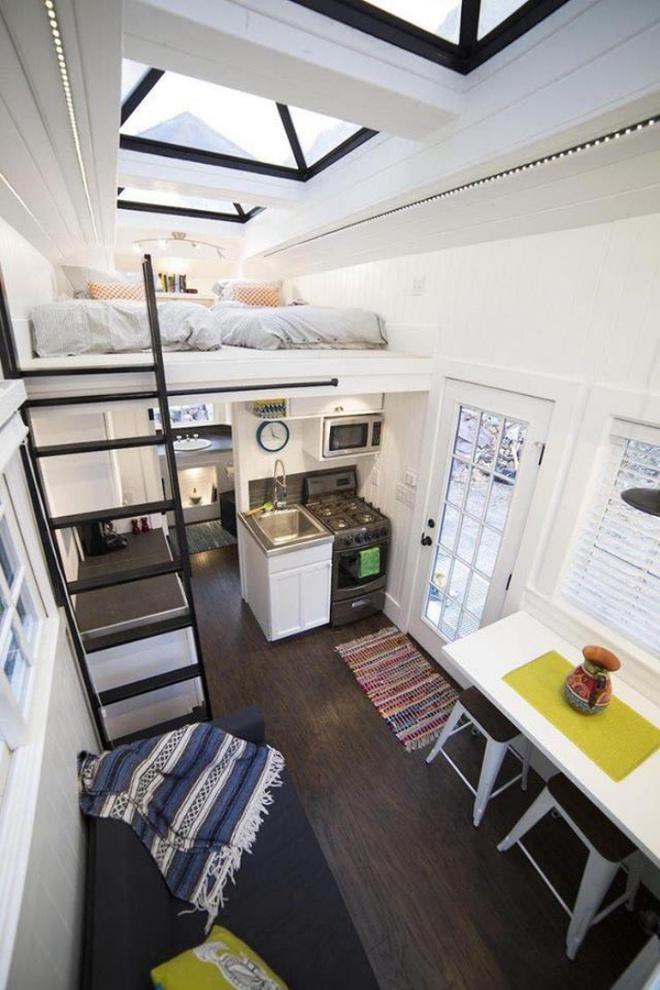 Những thiết kế gác lửng đẹp như mơ cho nhà nhỏ hóa rộng thênh thang - Ảnh 10.
