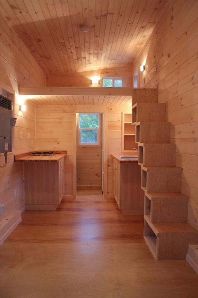 Những thiết kế gác lửng đẹp như mơ cho nhà nhỏ hóa rộng thênh thang - Ảnh 12.