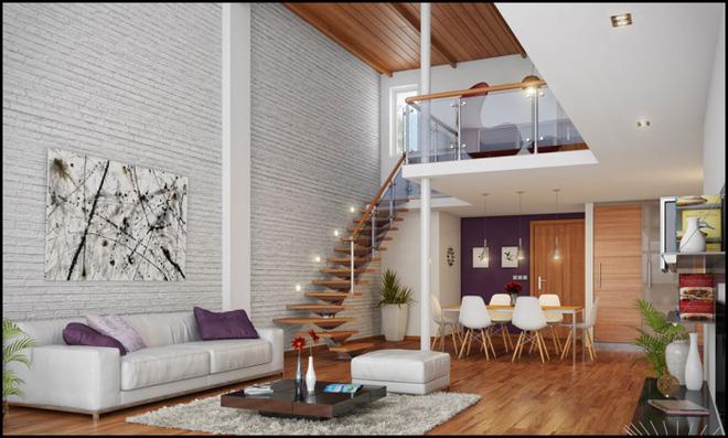Những thiết kế gác lửng đẹp như mơ cho nhà nhỏ hóa rộng thênh thang - Ảnh 13.