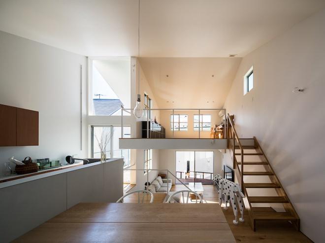 Những thiết kế gác lửng đẹp như mơ cho nhà nhỏ hóa rộng thênh thang - Ảnh 14.