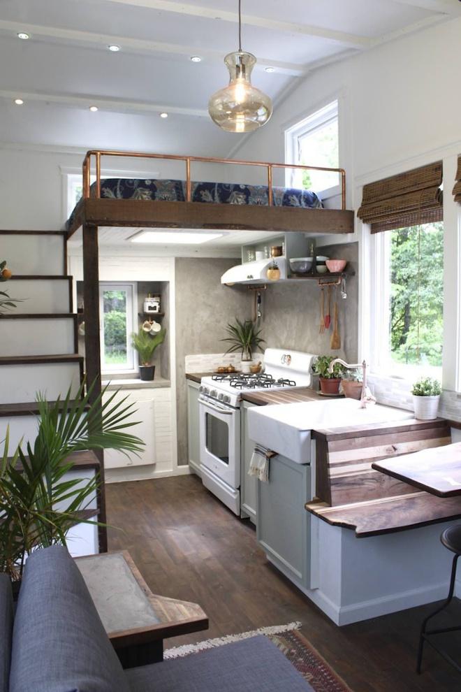 Những thiết kế gác lửng đẹp như mơ cho nhà nhỏ hóa rộng thênh thang - Ảnh 15.