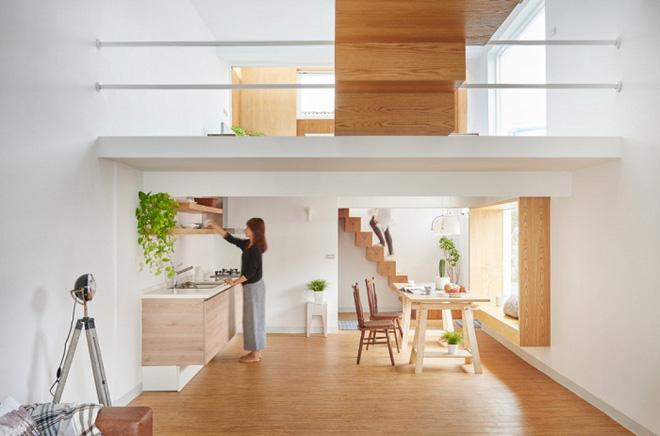 Những thiết kế gác lửng đẹp như mơ cho nhà nhỏ hóa rộng thênh thang - Ảnh 17.