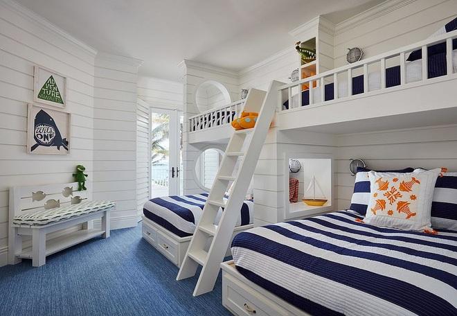 Mách bạn 5 cách thiết kế phòng ngủ chung cho các con khiến bé thích mê - Ảnh 4.