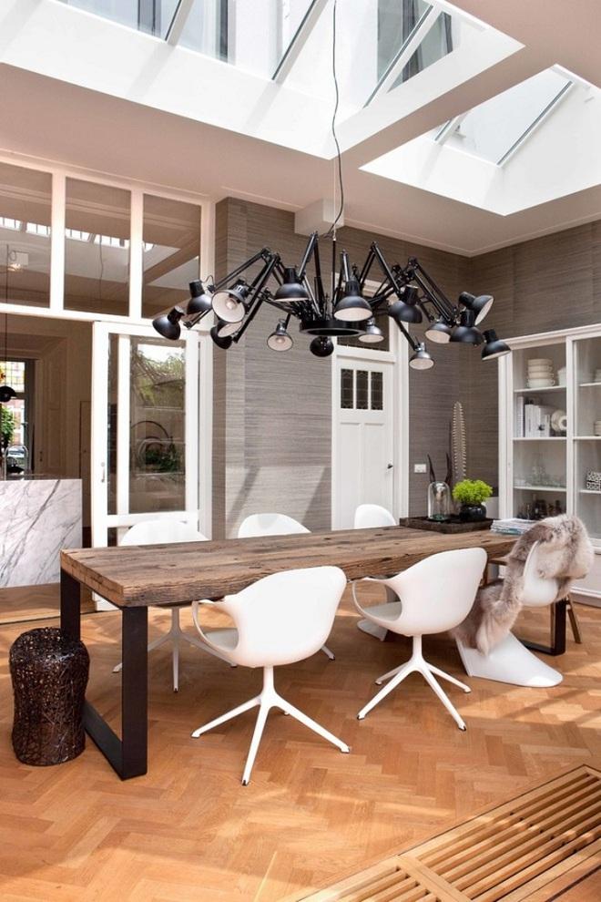Đèn trần màu đen – thiết kế phù hợp các kiểu không gian sống - Ảnh 9.