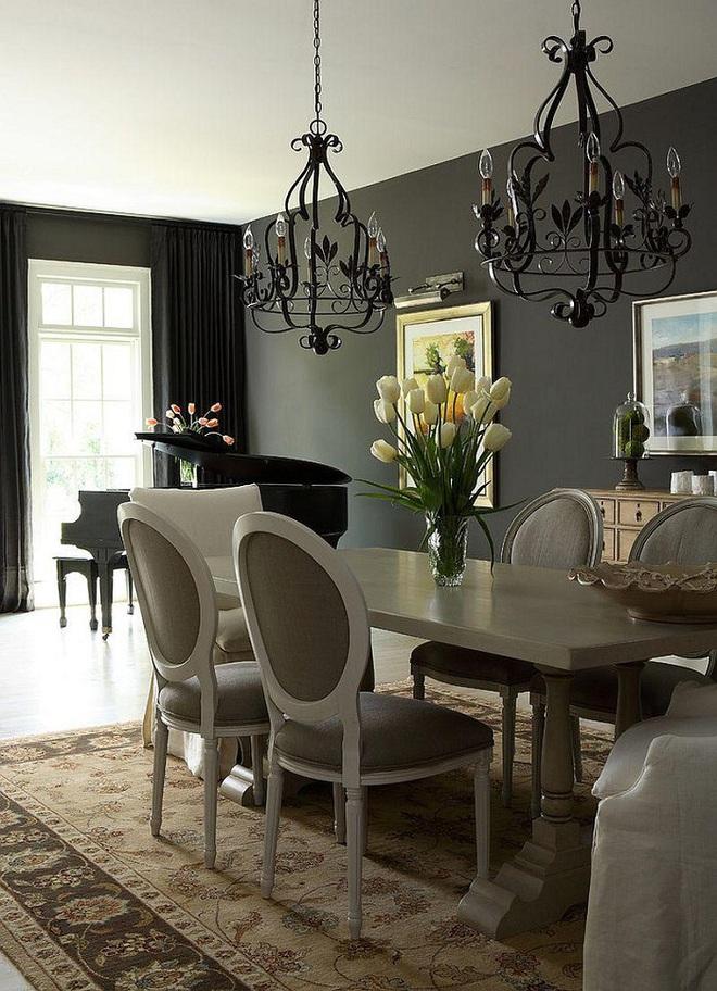 Đèn trần màu đen – thiết kế phù hợp các kiểu không gian sống - Ảnh 10.