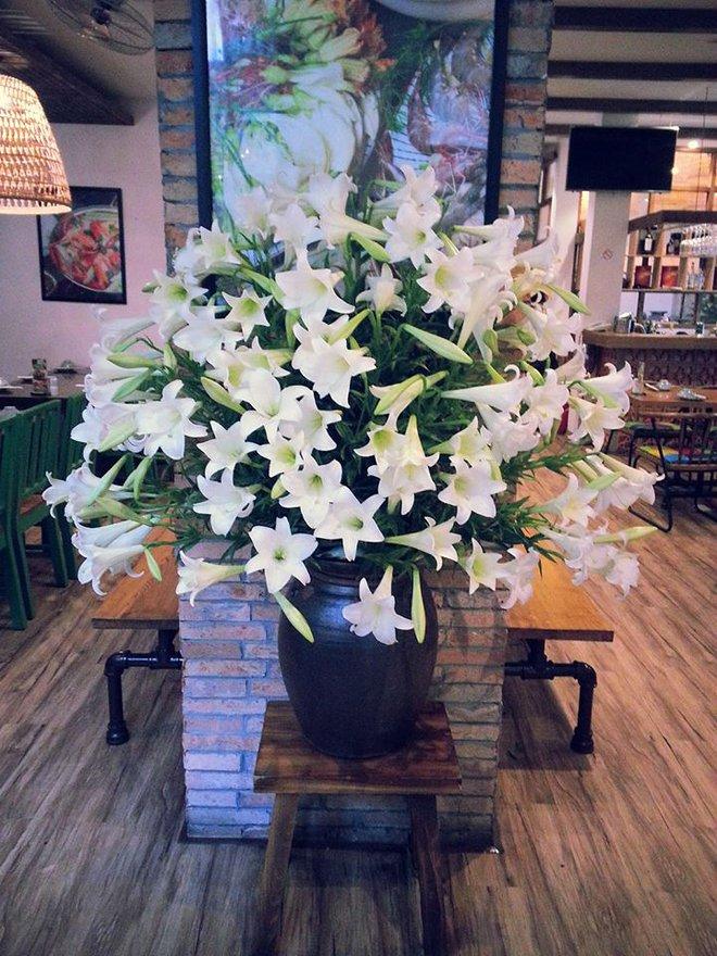 Tháng 4 về, ai cũng dành một góc nhà tinh khôi trong trẻo với hoa loa kèn - Ảnh 6.