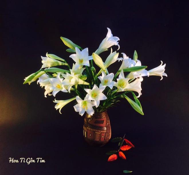 Tháng 4 về, ai cũng dành một góc nhà tinh khôi trong trẻo với hoa loa kèn - Ảnh 18.