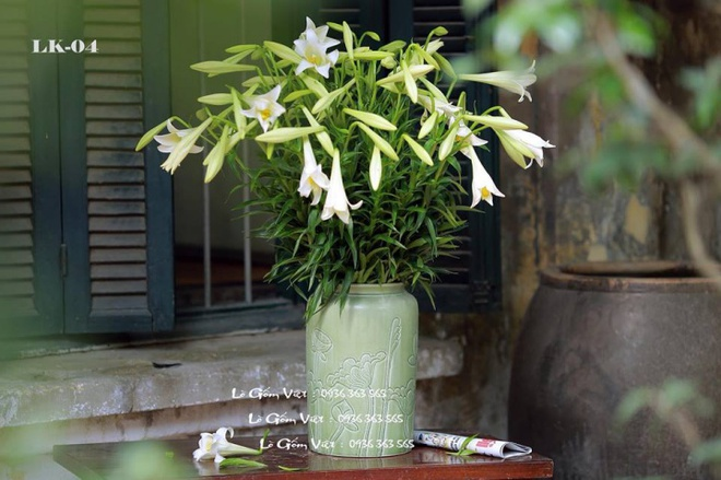 Tháng 4 về, ai cũng dành một góc nhà tinh khôi trong trẻo với hoa loa kèn - Ảnh 21.