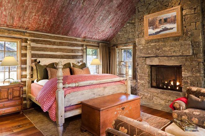 Bạn sẽ thấy tuyệt vời biết mấy khi sở hữu một phòng ngủ rustic thế này - Ảnh 3.