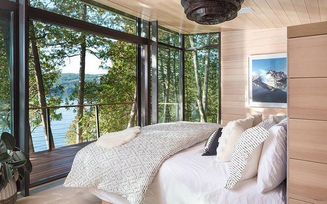 Bạn sẽ thấy tuyệt vời biết mấy khi sở hữu một phòng ngủ rustic thế này - Ảnh 8.