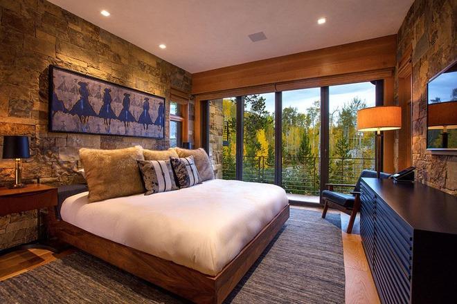 Bạn sẽ thấy tuyệt vời biết mấy khi sở hữu một phòng ngủ rustic thế này - Ảnh 10.