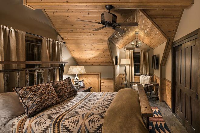 Bạn sẽ thấy tuyệt vời biết mấy khi sở hữu một phòng ngủ rustic thế này - Ảnh 12.