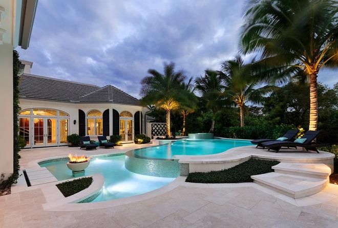 Những ngôi nhà sở hữu bể bơi ngoài trời đẹp đến lịm tim - Ảnh 11.