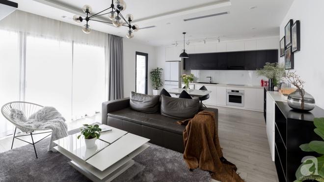 Căn hộ đen trắng 100m² đẹp như nhà trên báo nước ngoài với tổng chi phí 850 triệu đồng ở Thanh Xuân, Hà Nội - Ảnh 6.