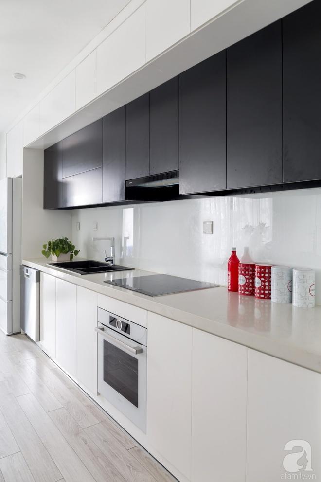 Căn hộ đen trắng 100m² đẹp như nhà trên báo nước ngoài với tổng chi phí 850 triệu đồng ở Thanh Xuân, Hà Nội - Ảnh 15.