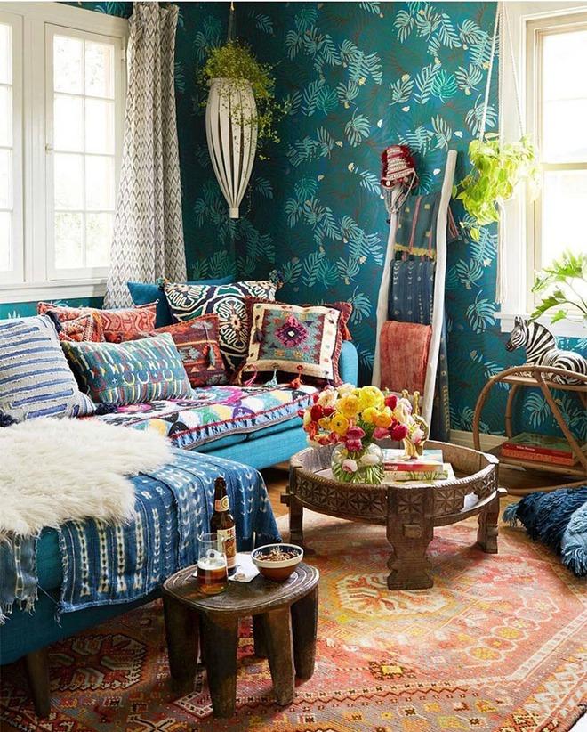 Mỗi khi hè sang là nhà nhà lại muốn có một căn phòng khách như thế này - Ảnh 1.