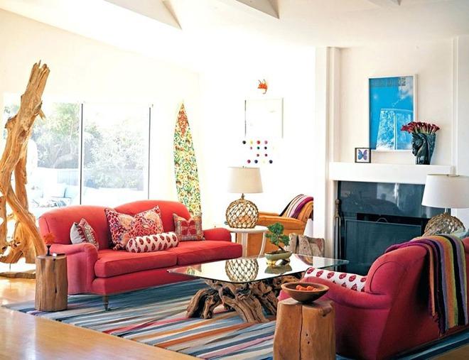 Mỗi khi hè sang là nhà nhà lại muốn có một căn phòng khách như thế này - Ảnh 4.