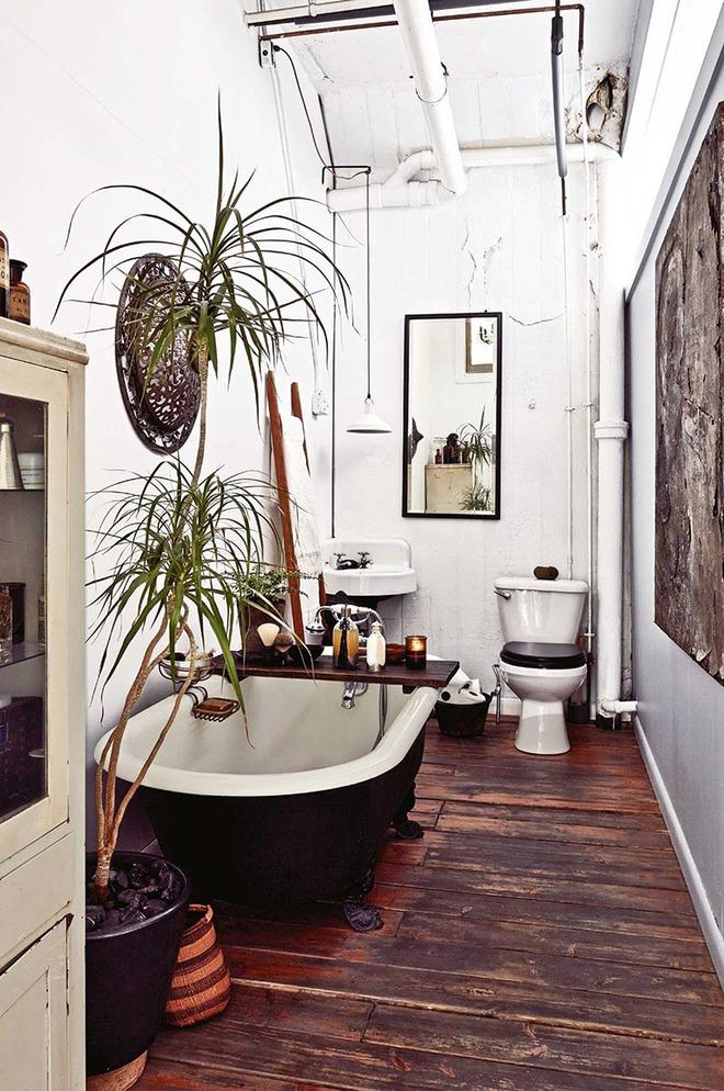 Có thể bạn không tin nhưng phong cách Bohemian cũng hợp với phòng tắm lắm đấy - Ảnh 5.