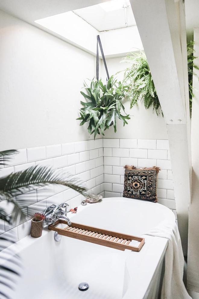 Có thể bạn không tin nhưng phong cách Bohemian cũng hợp với phòng tắm lắm đấy - Ảnh 7.