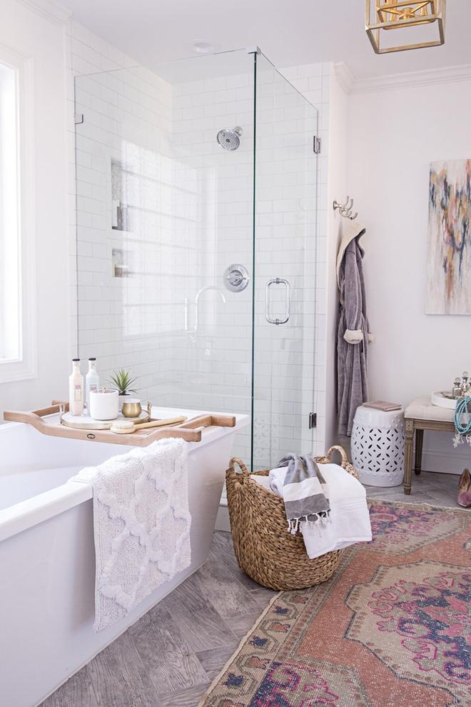 Có thể bạn không tin nhưng phong cách Bohemian cũng hợp với phòng tắm lắm đấy - Ảnh 10.