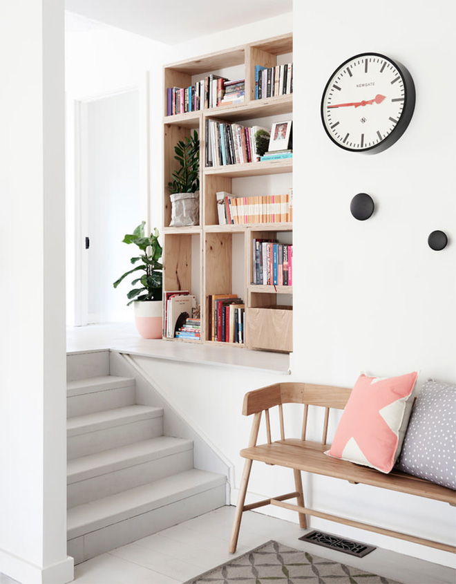 Những thiết kế tích hợp kệ sách với cầu thang vô cùng độc đáo - Ảnh 11.