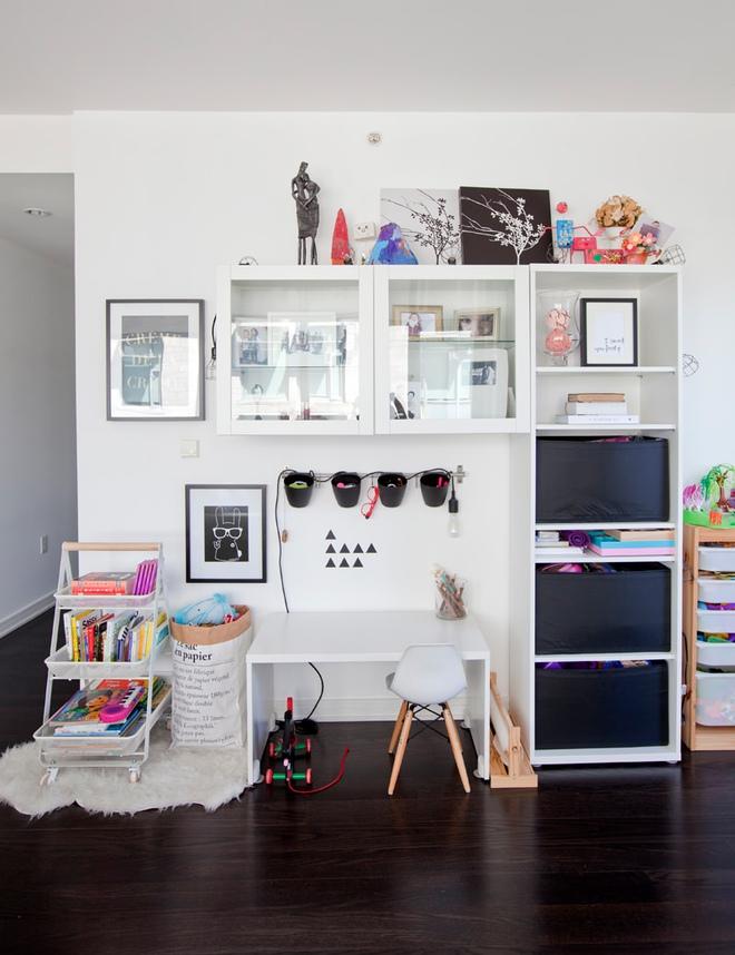 Căn hộ với cách bố trí nội thất đẹp hoàn hảo đến từng chi tiết giúp các bé phát triển trí thông minh - Ảnh 6.