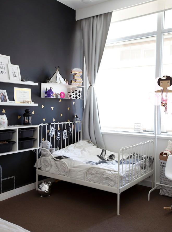 Căn hộ với cách bố trí nội thất đẹp hoàn hảo đến từng chi tiết giúp các bé phát triển trí thông minh - Ảnh 13.
