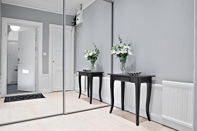 Căn hộ 39m² góc nào cũng yêu nhờ décor hoàn hảo với màu trắng và xám - Ảnh 3.