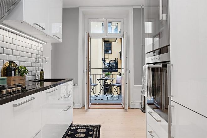 Căn hộ 39m² góc nào cũng yêu nhờ décor hoàn hảo với màu trắng và xám - Ảnh 8.