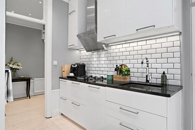 Căn hộ 39m² góc nào cũng yêu nhờ décor hoàn hảo với màu trắng và xám - Ảnh 9.