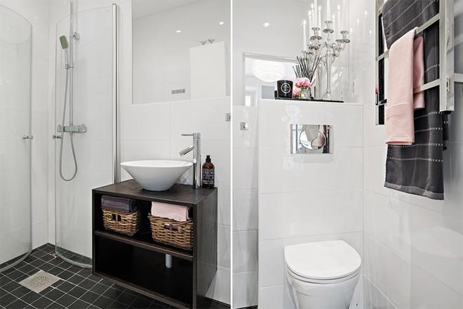 Căn hộ 39m² góc nào cũng yêu nhờ décor hoàn hảo với màu trắng và xám - Ảnh 10.