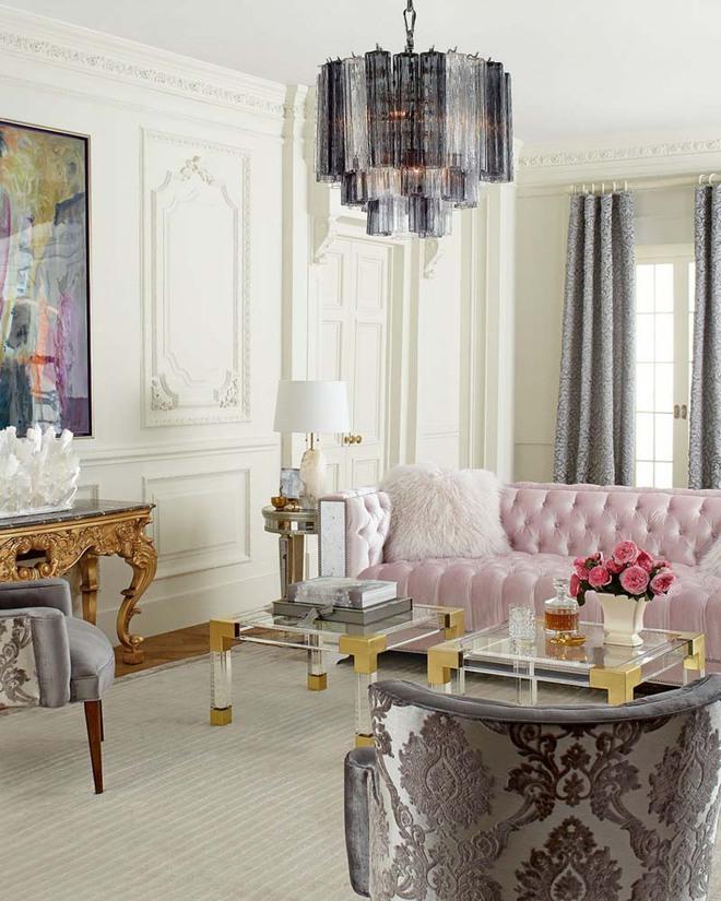 Choáng ngợp trước vẻ đẹp sang chảnh của những căn phòng khách mang phong cách Baroque - Ảnh 3.