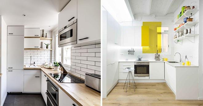 Những căn bếp nhỏ đẹp tới mức bạn sẵn sàng bỏ bếp rộng để được ở trong không gian này - Ảnh 1.