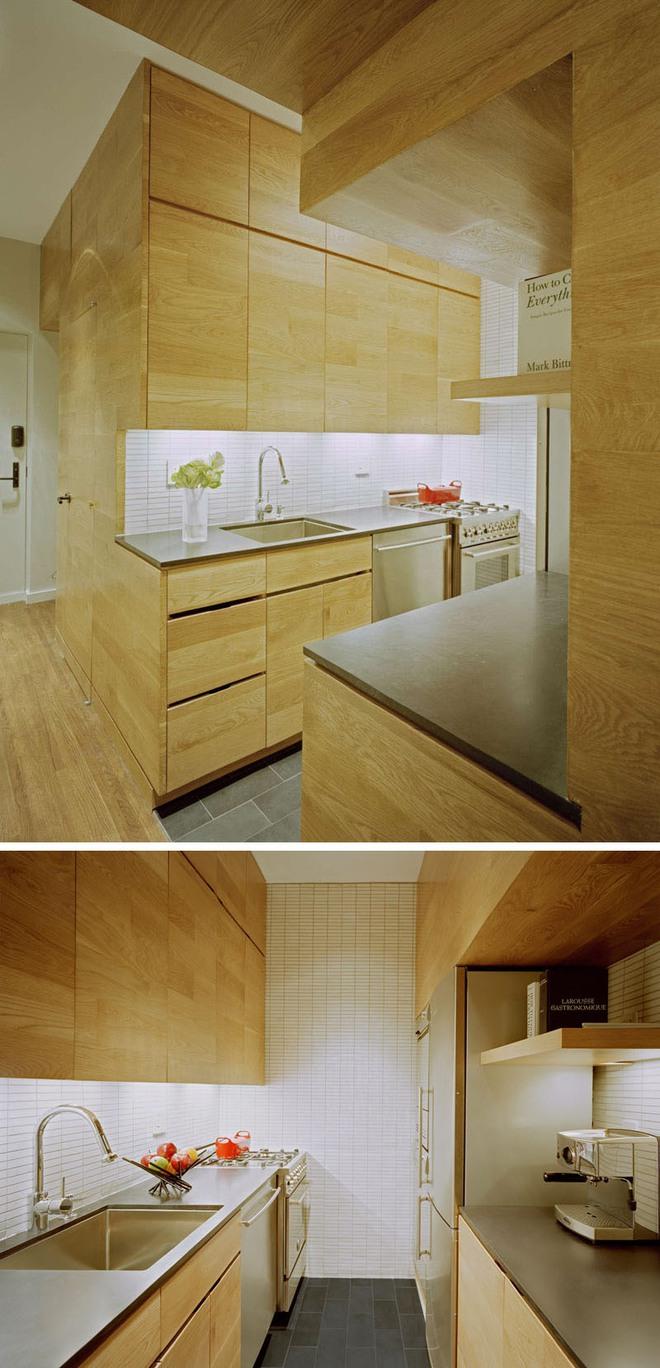 Những căn bếp nhỏ đẹp tới mức bạn sẵn sàng bỏ bếp rộng để được ở trong không gian này - Ảnh 2.