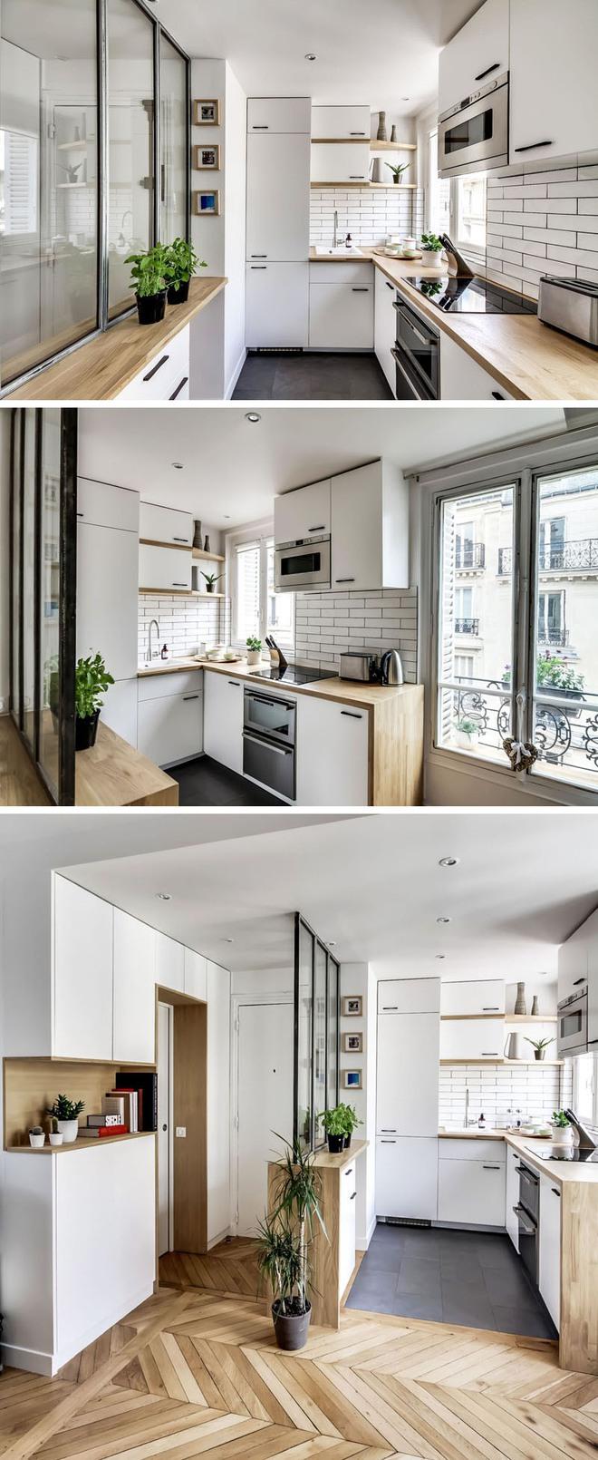 Những căn bếp nhỏ đẹp tới mức bạn sẵn sàng bỏ bếp rộng để được ở trong không gian này - Ảnh 7.