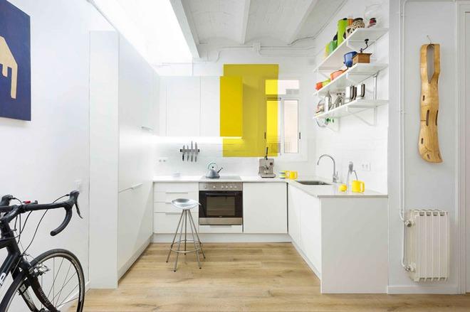Những căn bếp nhỏ đẹp tới mức bạn sẵn sàng bỏ bếp rộng để được ở trong không gian này - Ảnh 8.