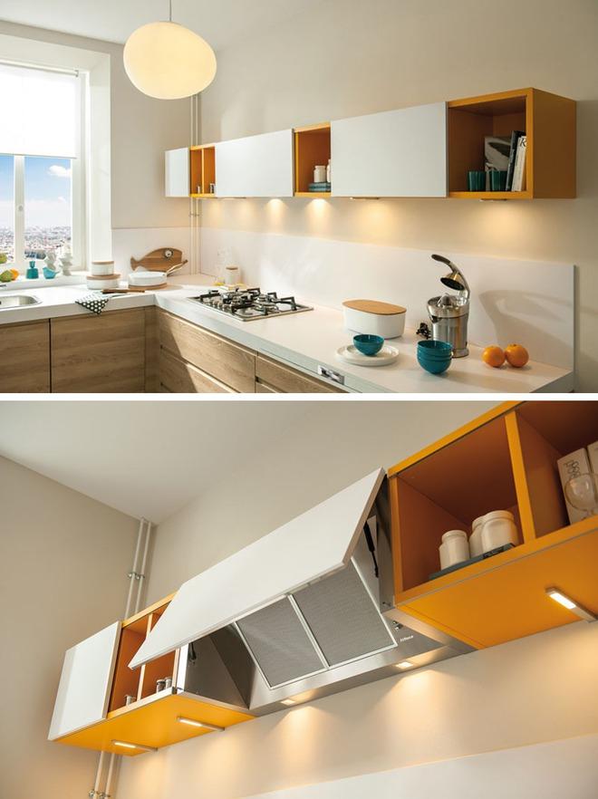 Những căn bếp nhỏ đẹp tới mức bạn sẵn sàng bỏ bếp rộng để được ở trong không gian này - Ảnh 12.