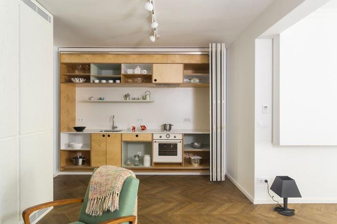 Những căn bếp nhỏ đẹp tới mức bạn sẵn sàng bỏ bếp rộng để được ở trong không gian này - Ảnh 15.