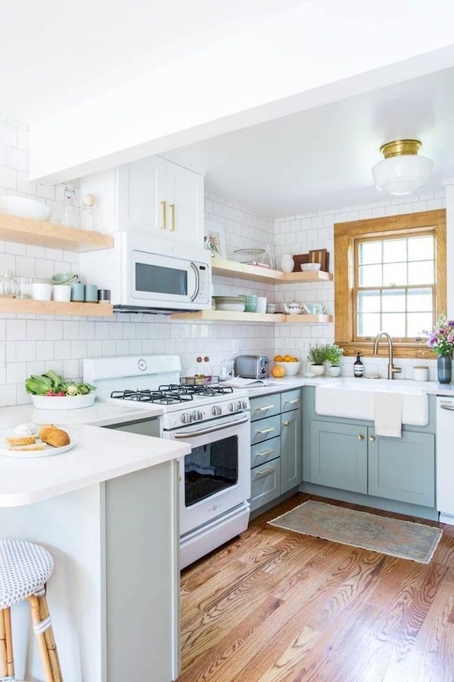 Chỉ nhờ một yếu tố nhỏ này thôi mà căn bếp gia đình trông đẹp hơn gấp mấy phần - Ảnh 14.