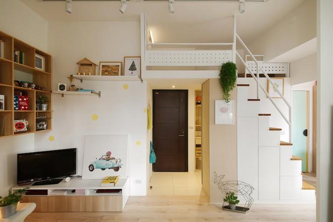 Tân trang lại căn hộ nhỏ chưa đầy 50m², điều tuyệt vời đã xảy ra với cả gia đình - Ảnh 1.